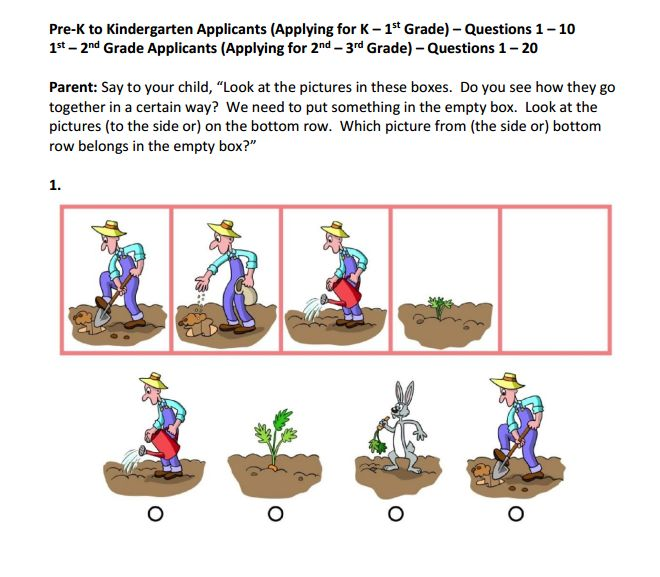 OLSAT practice question...Otis-Lennon School Ability Test® #OLSAT ...