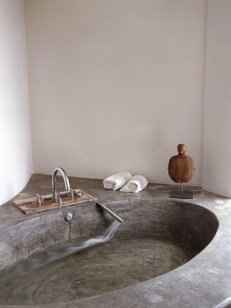 Best 25 Concrete bathtub ideas only on Pinterest Concrete