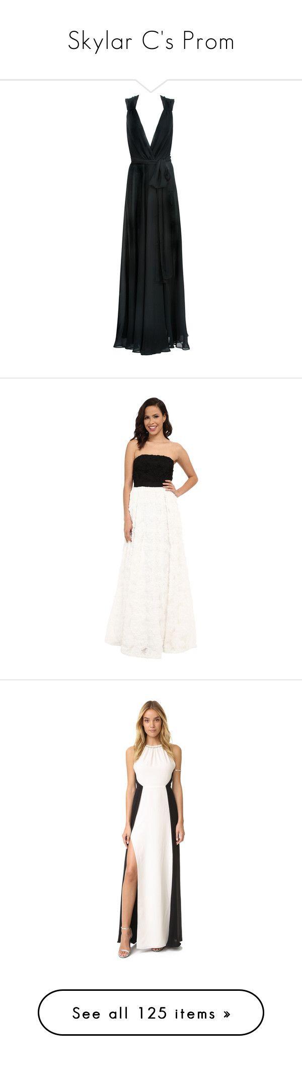"""Skylar C's Prom"" by taryn-scott ❤ liked on Polyvore featuring dresses, drape dress, hooded dress, drapey dress, beach dresses, chiffon beach dress, gowns, black, chiffon evening dresses and full tulle skirt"
