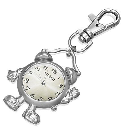 Kulcstartó órával