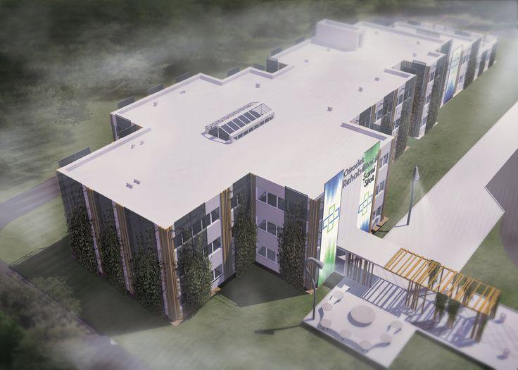 Projekt inżynierski Ośrodka rehabilitacji/ Engineer 4 by Kokoro-Architecture