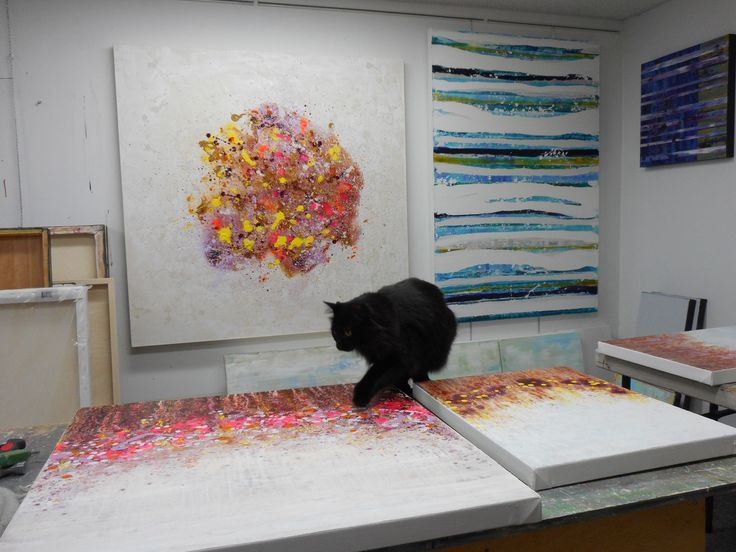 Inside the studio with artist Lisa Carney. I have painted and sang all my life. I was lucky to grow up in an artistic family.. Find Our More!