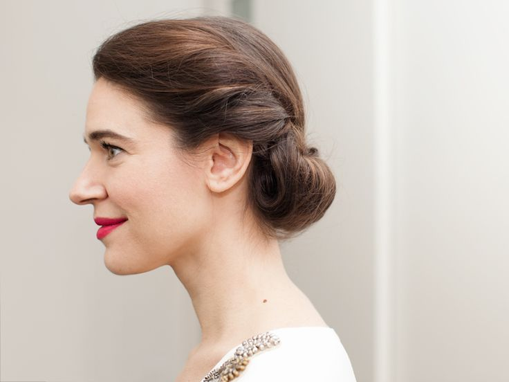 Master the Princess Roll Updo. A special-occasion style for shoulder-length to long hair.