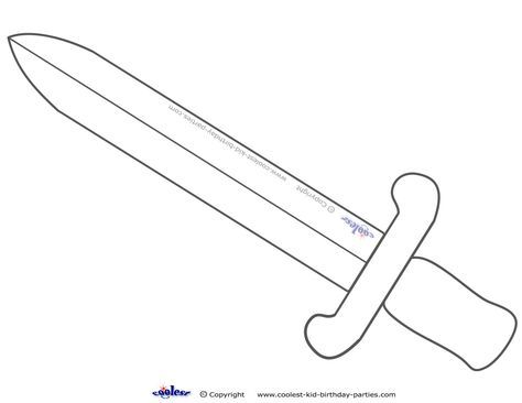 knights sword templates | Previous Printable Next Printable