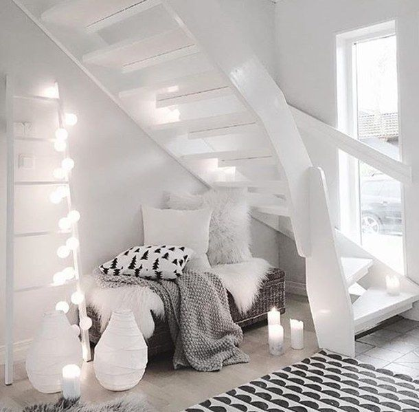 room and stairs