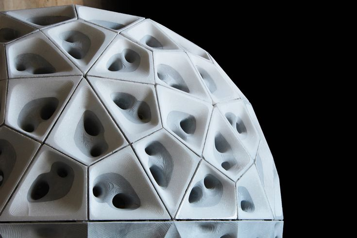 StonePolySphere is an installation that investigates the potential of digital fabrication applied to the stone industry. It is a lithic sphere with a diamete...