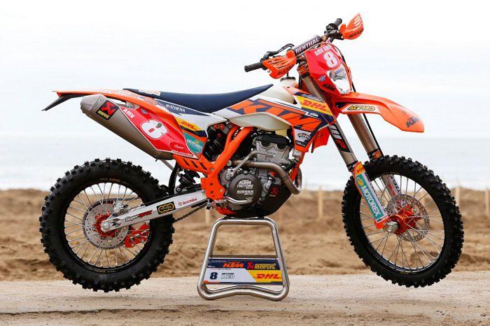 Moto enduro ktm 350 exc f antoine m o enduro motocross dirt bikes motorbikes - Image de moto ktm ...