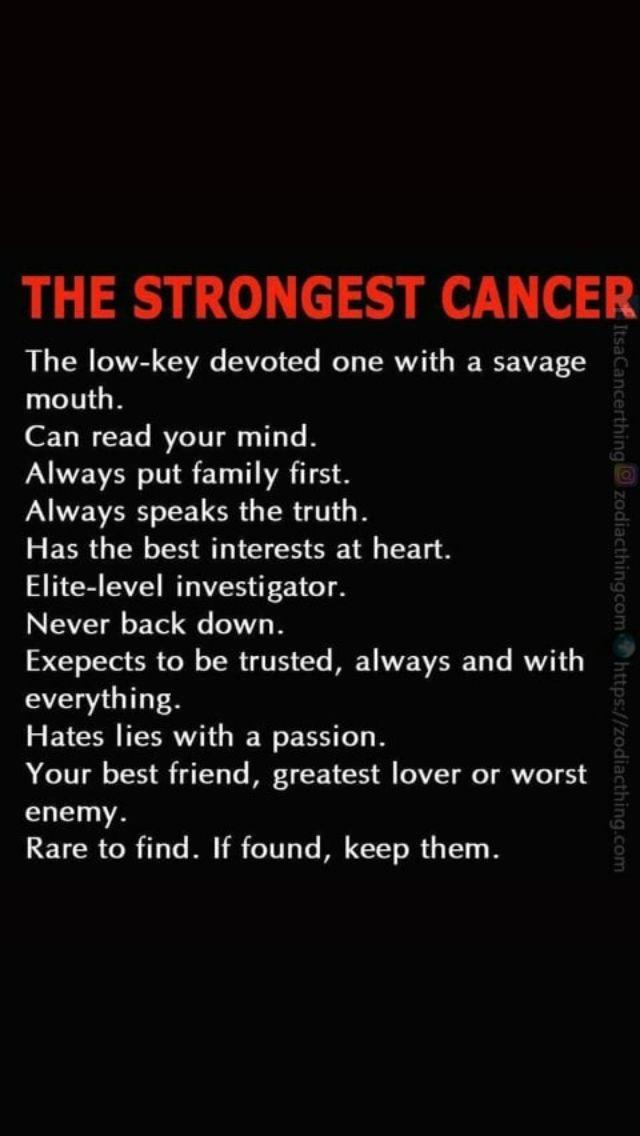 Pin by Jasmine on Horoscopes | Cancer quotes zodiac