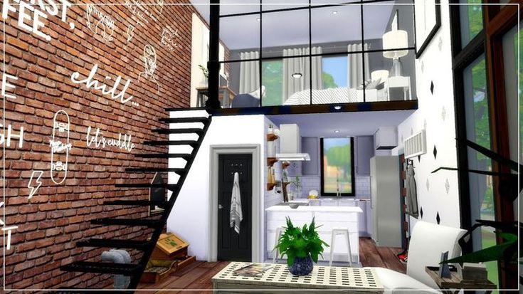 Sims 4: 10 Completely Functional Tiny Homes (That Use No ...