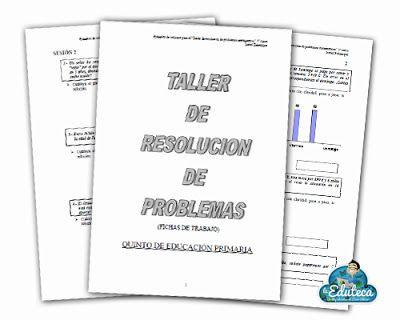 RECURSOS PRIMARIA | Talleres de resolución de problemas para Primaria ~ La Eduteca