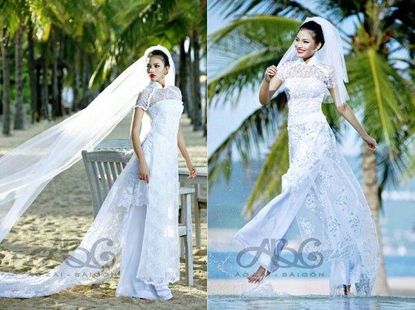 The 83 best Ao Dai Wedding images on Pinterest | Ao dai wedding ...