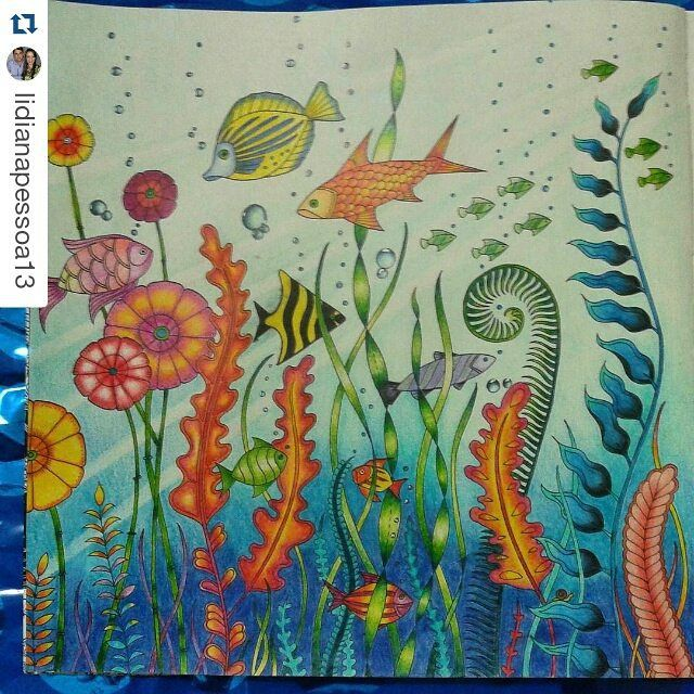 Faber Castell Calendar Art Competition : Best images about lost ocean coloring book on
