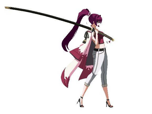 Yuzuriha (UNIEL) Animations