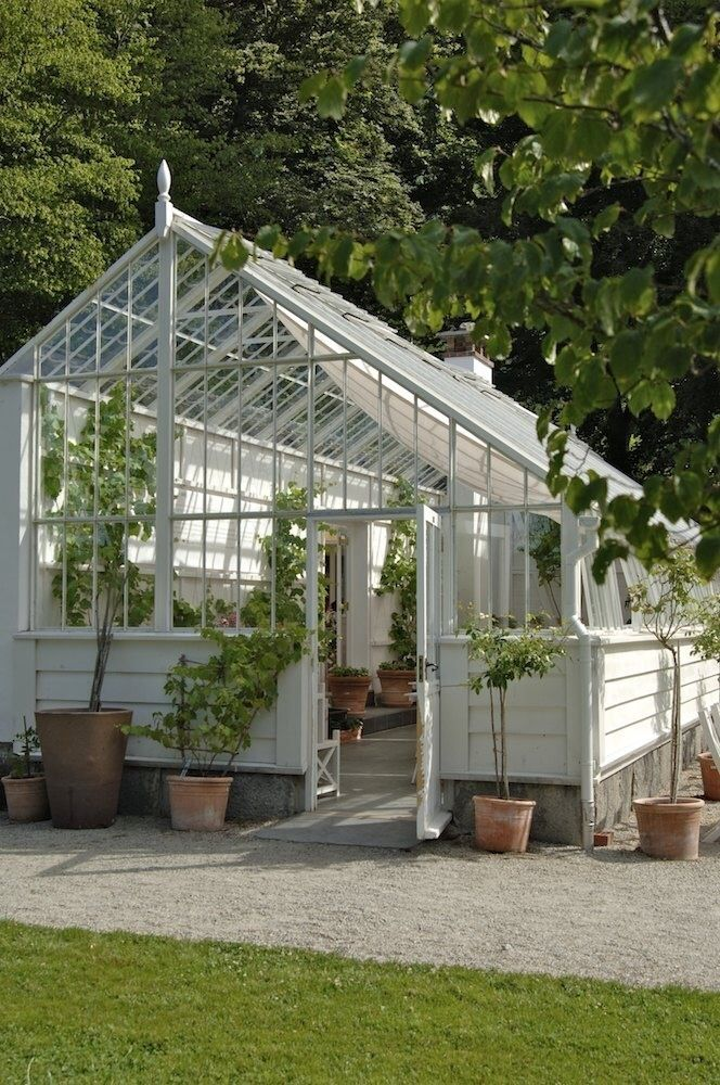 190 best conservatories greenhouses images on pinterest for Greenhouse styles