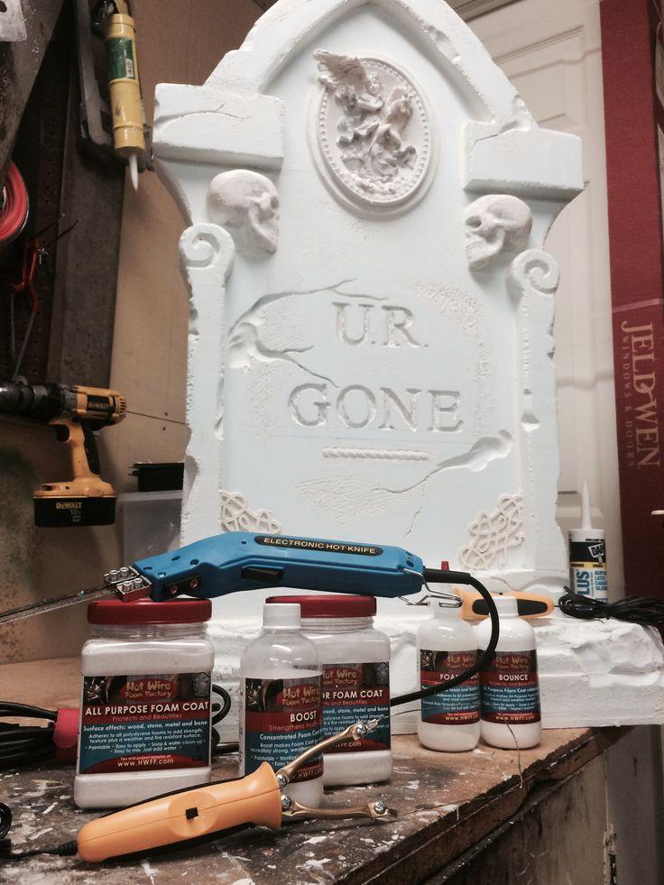 25+ best ideas about Halloween Tombstones on Pinterest  ~ 204817_Halloween Decorating Ideas Tombstones