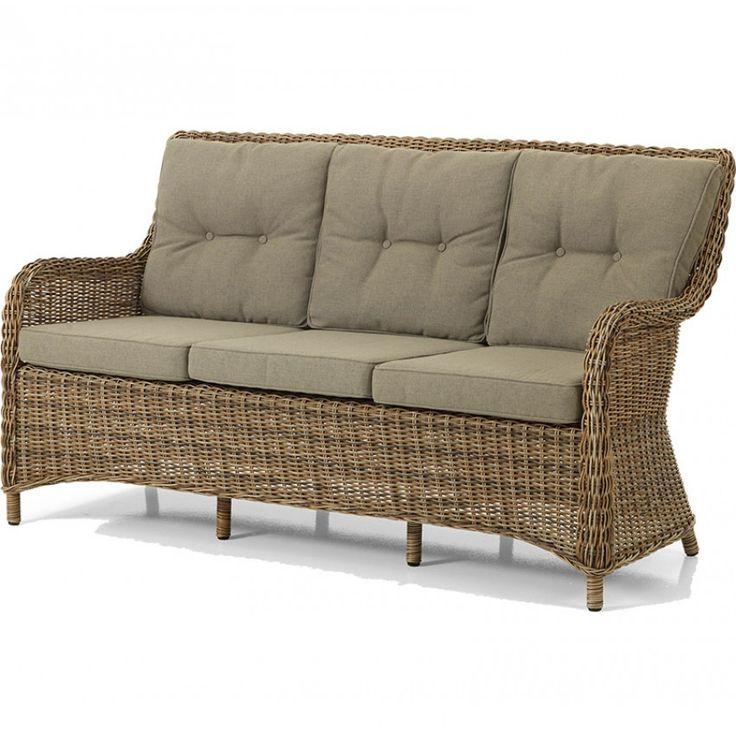 Modesto soffa i brun konstrotting Brafab