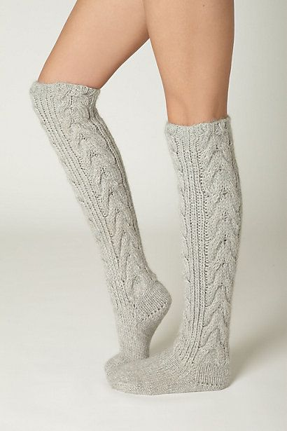 winter...you know what that means...fuzzy socks are now acceptable!
