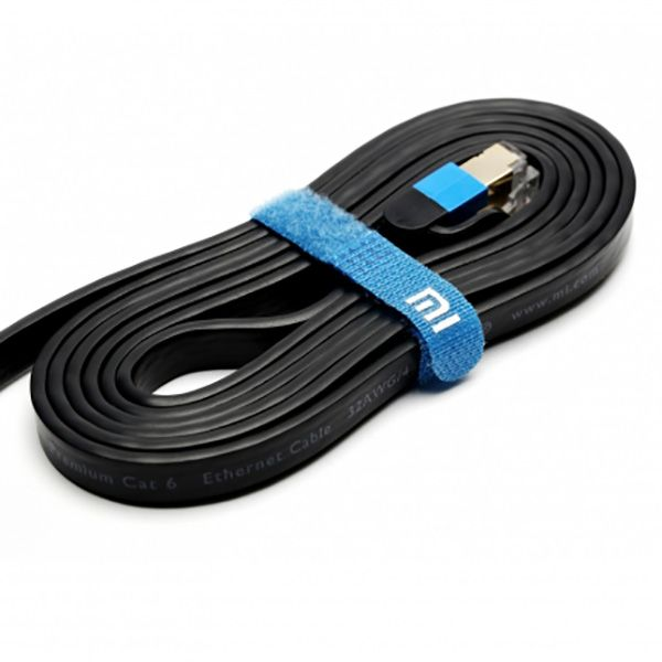 Xiaomi Ethernet Kabel Cat 6 RJ45 1000Mbps 24K vergoldete Premium 3M