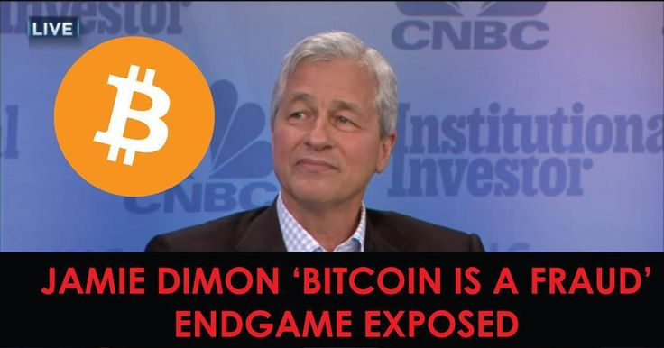 "My latest article exposing JPMorgan Chase's CEO Jamie Dimon's ""Bitcoin is a Fraud"" Endgame is out now link in bio"