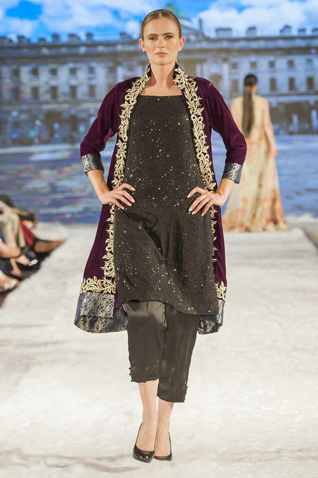 Al Zohaib Textile Pakistan Fashion Week 9 London collection 2016 Pics