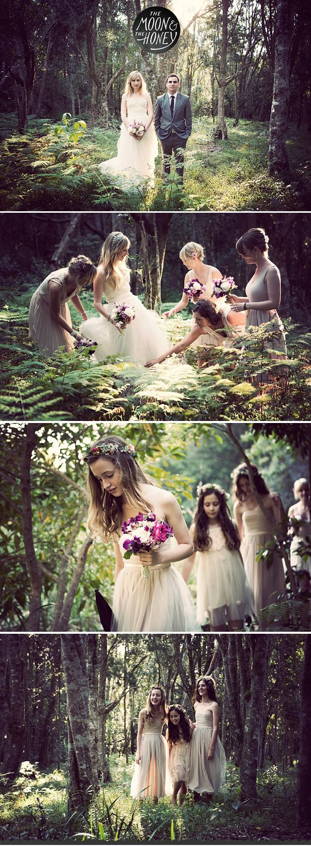 Iowa Weddings | The Moon & The Honey  Rustic, Woodland, Forest, Wedding inspiration
