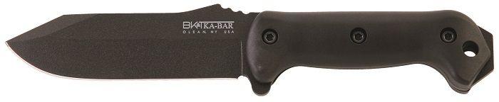 KA-BAR Becker BK-10 CREWMAN Full Tang 1095 Cro-Van Steel Straight Edge Survival and Utility Knife.