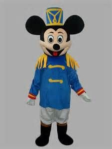 mickey mouse naivy mascotte costume location