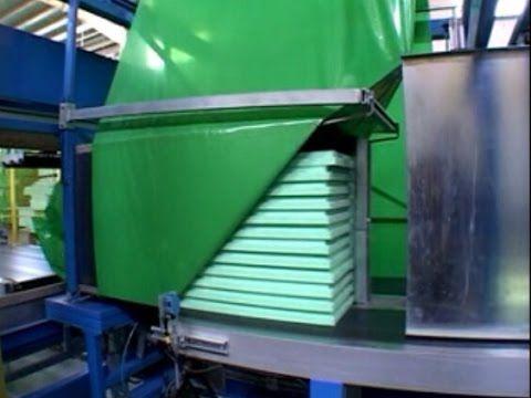 Automatic panel shrinking machine/packing machine