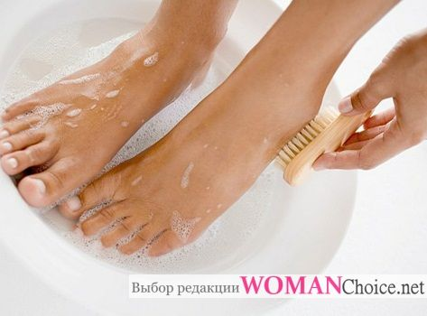 Right foot treatment