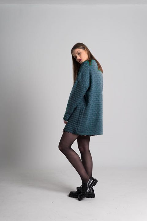 """Have you noticed the new petrol blue colour on """"BERYL"""" oversized sweater? /// SPECIAL PRICE only for today! #karavan #karavanclothing #karavangirl"""