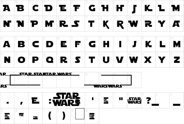 Star Wars Fonts for iOS - download.cnet.com