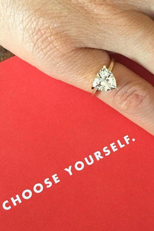 This Pinky Promise Ring Was Designed for All the Single Ladies