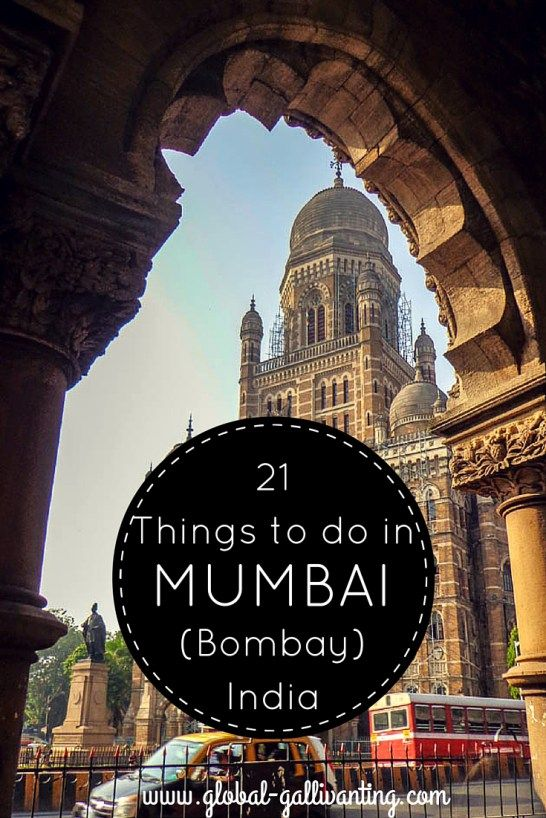 21 Things to do in Mumbai (Bombay) India
