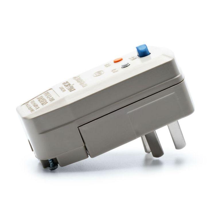 Mini Hogar Tapón de Protección de Fuga 220 V 10A Enchufe de Seguridad Eléctrica CCC Aprobado