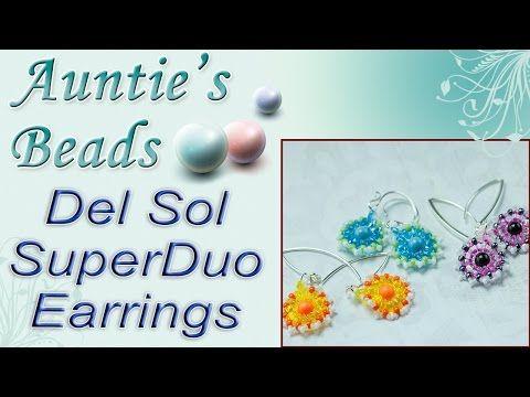 Del Sol SuperDuo Earrings - Karla Kam