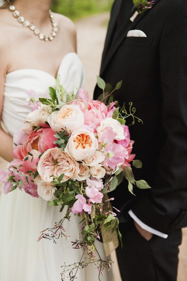 Garden Rose And Peony Bouquet best 25+ coral peony bouquet ideas on pinterest | coral peonies