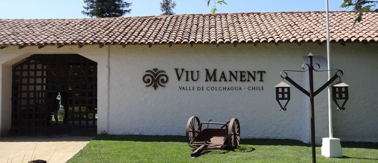 #Viu Manent Winery in Santa Cruz Colchagua Valley -  #Pinterest-Colchagua-Tours-Wine-Tours