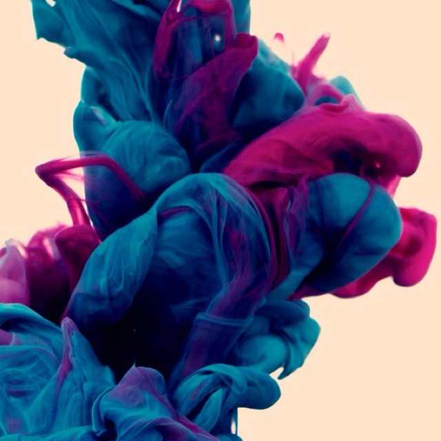 A photographer dropped ink in water!