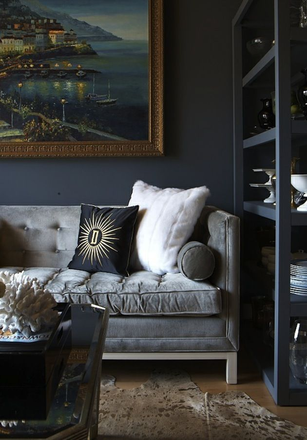 Best 25 Dark grey couches ideas on Pinterest