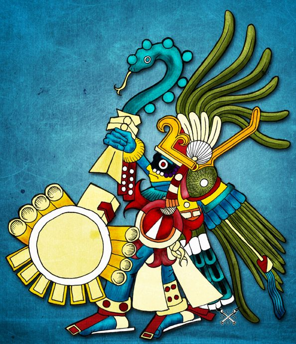 Huitzilopochtli - God of will and the sun. Description from pinterest.com. I searched for this on bing.com/images