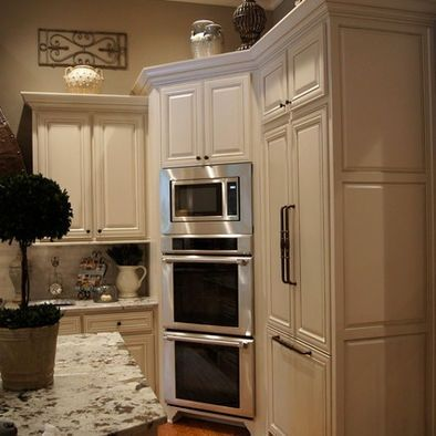 1000 ideas about double ovens on pinterest double oven for Eye level oven kitchen designs