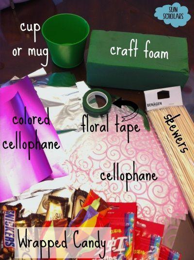 Sun Scholars: How to Make a Candy Bouquet - A Sweet Homemade Gift!