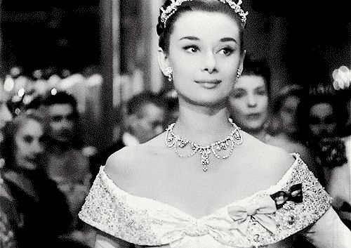 Audrey Hepburn in 'Roman Holiday', 1953 - gif