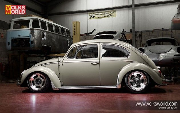 seasand beige 1966 vw beetle volksworld magazine body stock 1965 beetle l568 seasand. Black Bedroom Furniture Sets. Home Design Ideas