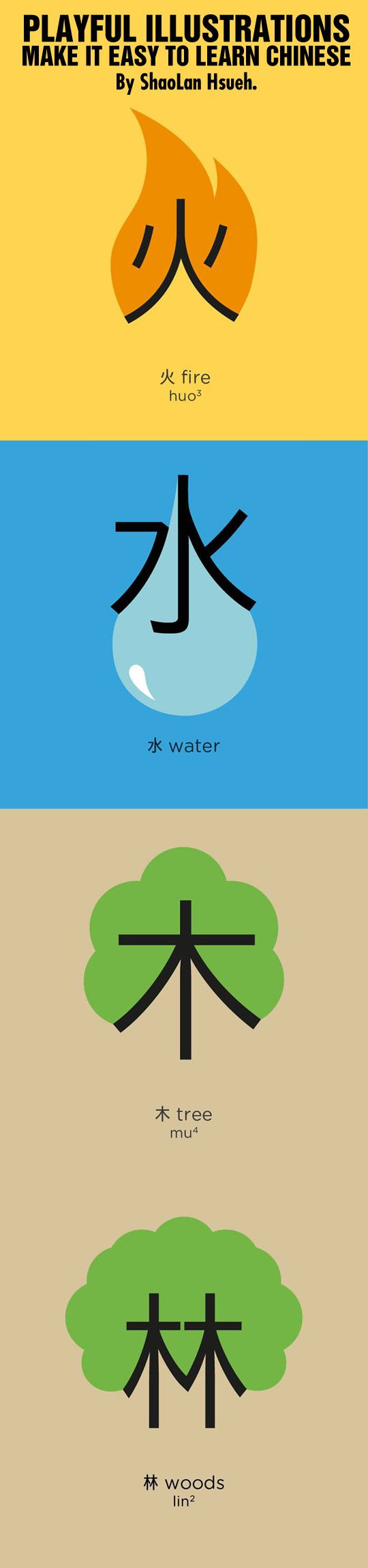 Playful illustrations make it easy to learn Chinese…