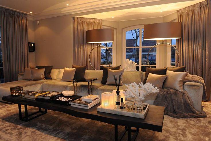 The Netherlands / Private Residence / Living Room / Tom Ford / Status Living / Eric Kuster / Metropolitan Luxury