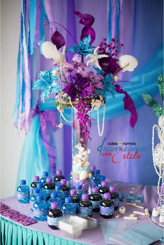Under The Sea Centerpiece Baby Shower Ideas Pinterest