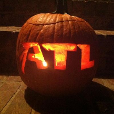 Email us a photo of your Falcons pumpkin to fanpix@atlantafalcons.com and you could win an autographed Julio Jones helmet!