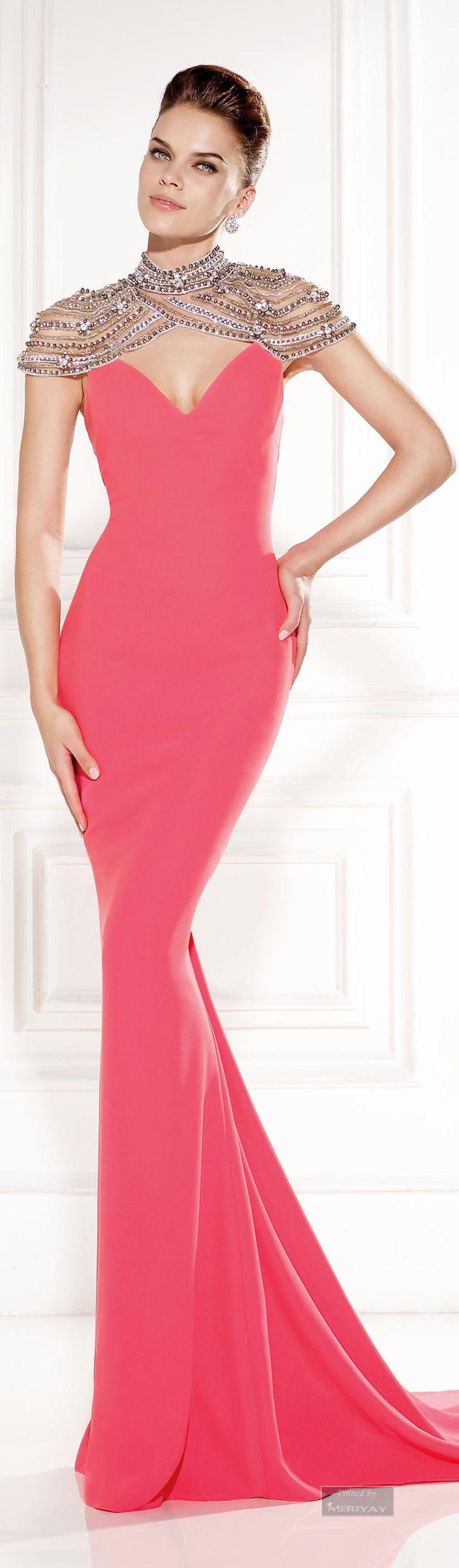 Tarik Ediz.Evening Dress 2015.     ᘡղbᘠ
