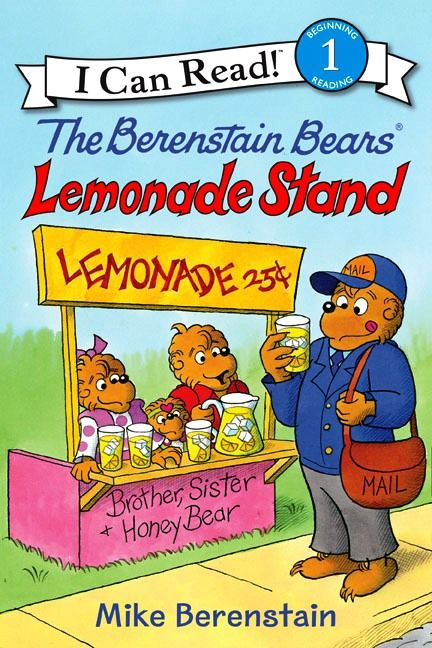 The Berenstain Bears' Lemonade Stand - When Mama shares some fresh lemonade with the cubs, Brother and Sister Bear have a great idea—why not make a lemonade stand and share with the whole neighborhood? Sure enough, everyone stops by for a refreshing glass of lemonade, and the day turns into a wonderful event. You can join us, too! From the I Can Read Books series by HarperCollins Children's Books